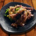 蛍イカと菜の花の酢味噌和え