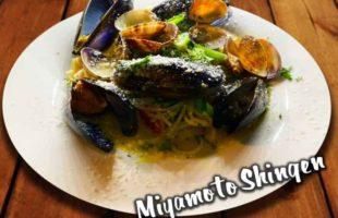 ムール貝とアサリのボンゴレビアンコ
